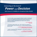 Connecting at the Level of Power and Decision (Audio CD)